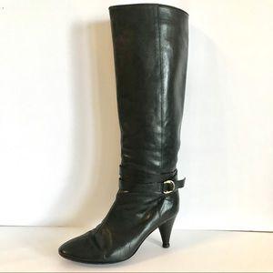 Loeffler Randall Black knee high Boots Size 7.5